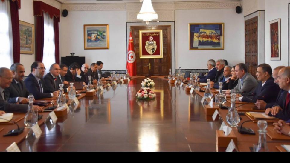 جلسة تفاوض بين الحكومة واتحاد الشغل