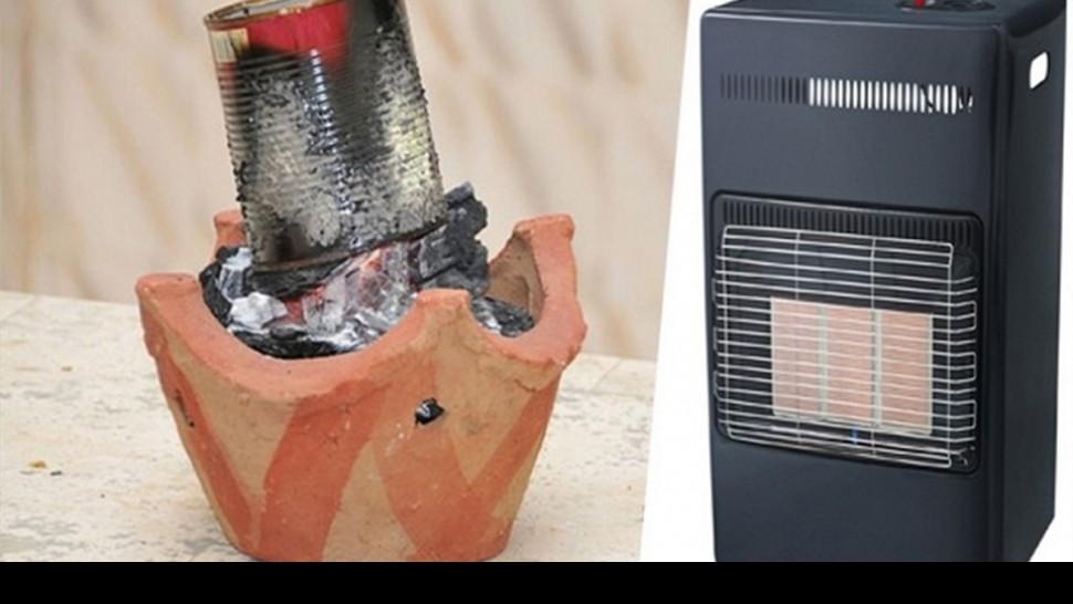 وسائل التدفئة  التقليدية