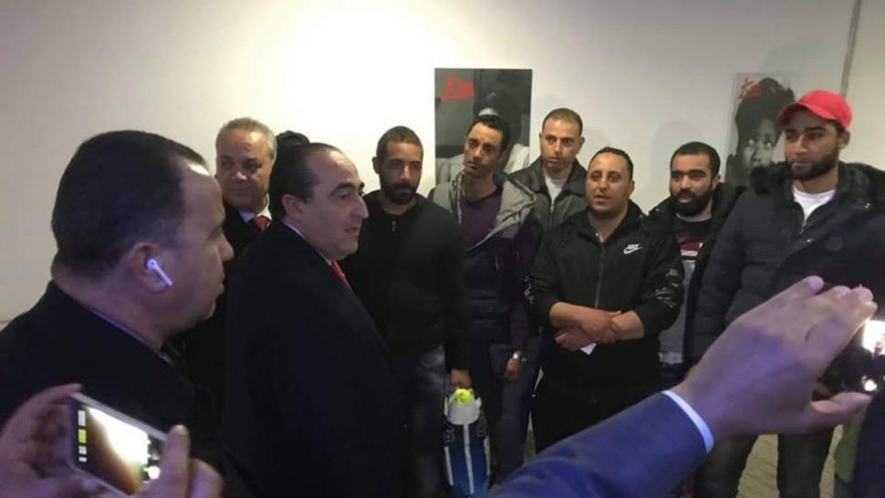استقبال التونسيين المحررين