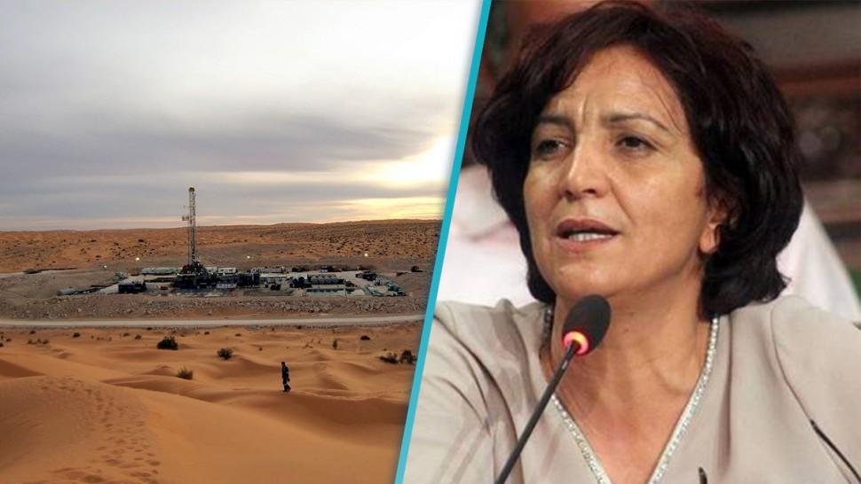سامية عبو: شبهة فساد كبيرة في حقل 'نوارة' وعقود استغلال وقع تجديدها بطرق غير قانونية