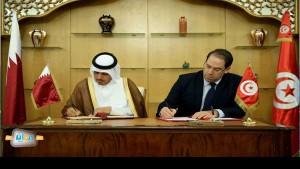 رئيس الحكومة يوسف الشاهد يمضي اتفاقيات تعاون مع قطر