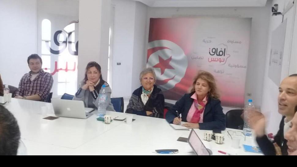 حزب أفاق تونس