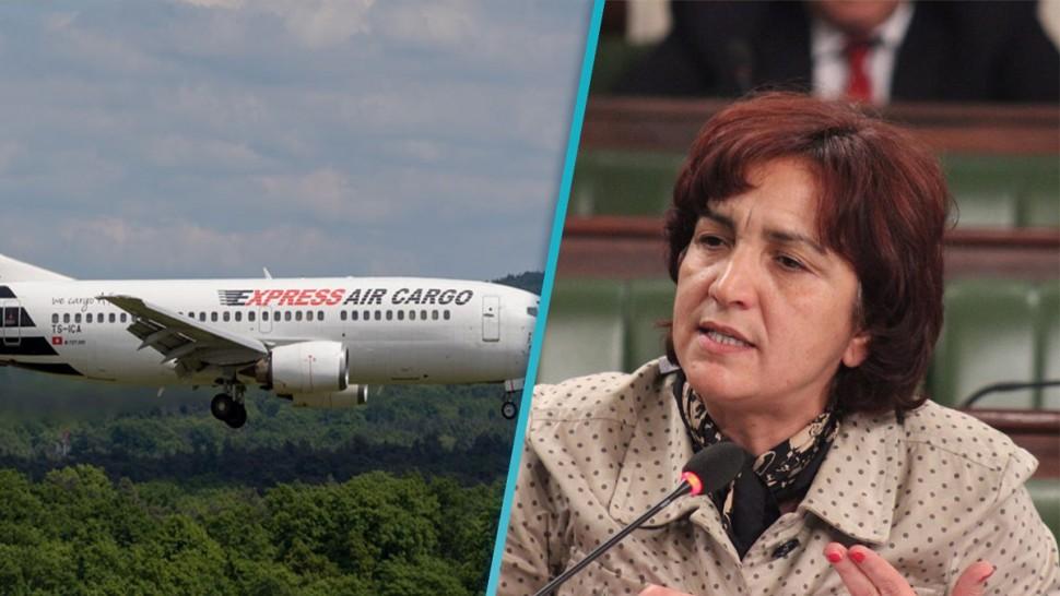 سامية عبو: 'إدارة الطيران المدني أمضت عقد شحن مع شركة يملكها أمين مال نداء تونس '