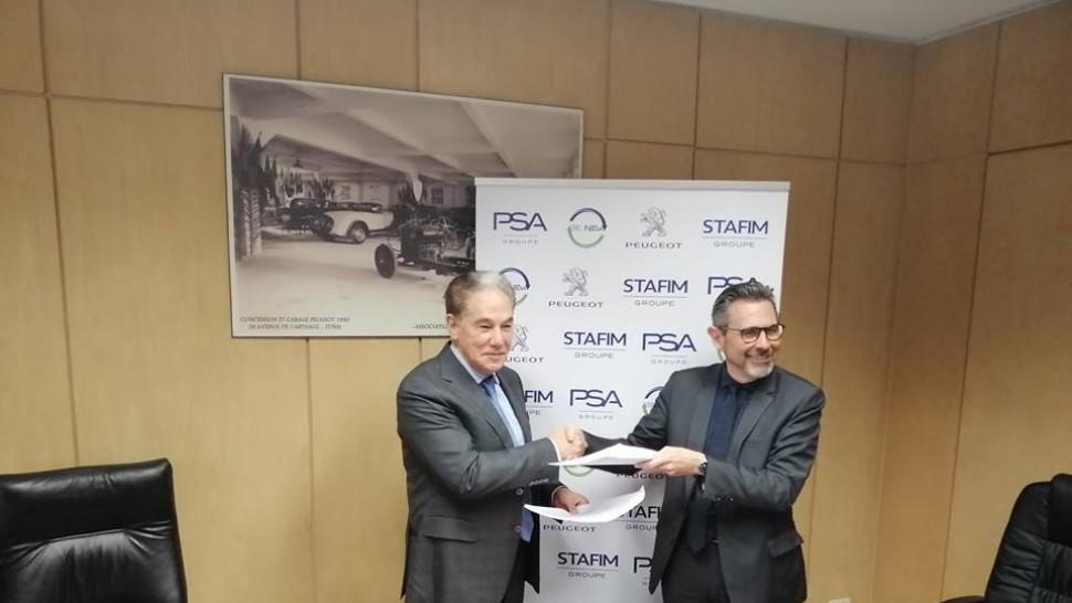 STAFIM, importateur de la marque PEUGEOT en Tunisie et le Groupe PSA lancent la commercialisation de pièces  issues de l'économie circulaire.
