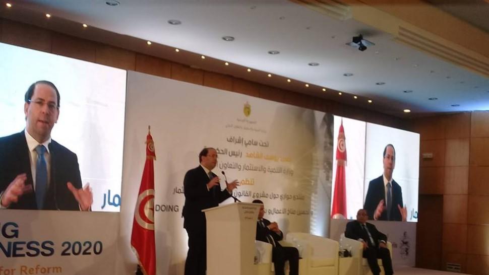 يوسف الشاهد: مشروع قانون تحفيز الاستثمار سيرفع جميع المكبّلات أمام الاستثمار