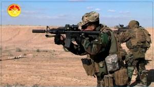 الجيش الوطني يطلق النار على عناصر إرهابية