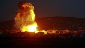 الدفاعات الجوية السورية تتصدى لصواريخ صهيونية