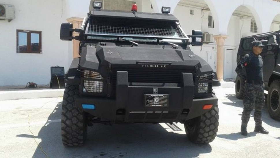 تونس تتسلم تجهيزات أمنية من السعودية