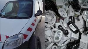 صفاقس: الحراسة و التفتيشات الديوانية تحجز 3 سيارات محملة بمواد مختلفة