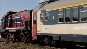 خروج قطار صفاقس -تونس عن السكة