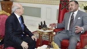 ملك المغرب ينعى السبسي