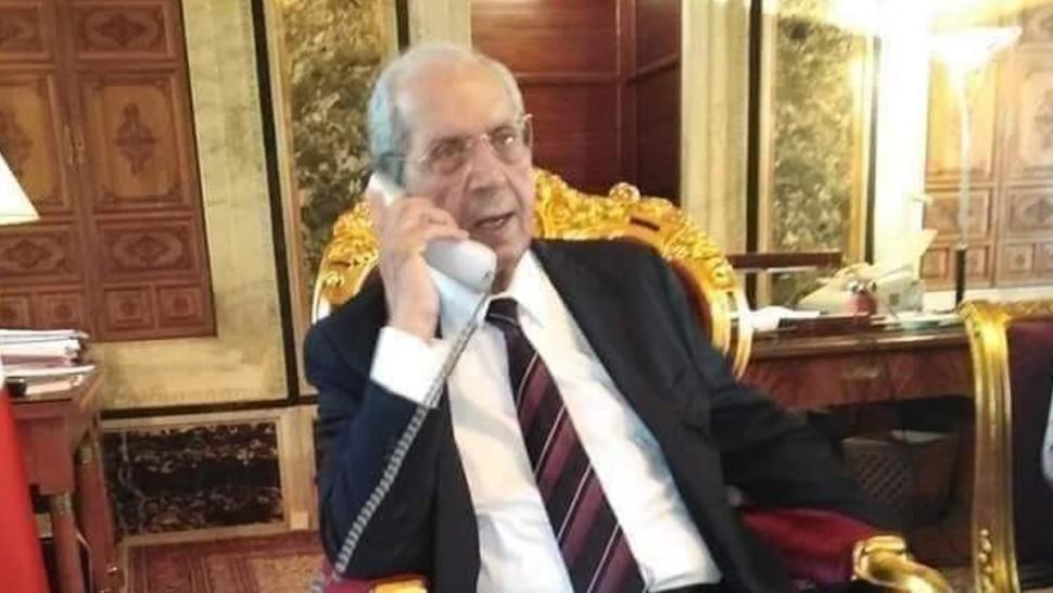 محمد الناصر يعلن توليه رئاسة الجمهورية