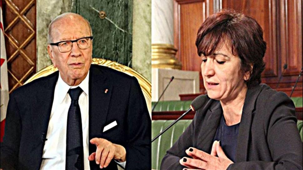 سامية عبو : السبسي جزء من تاريخ تونس