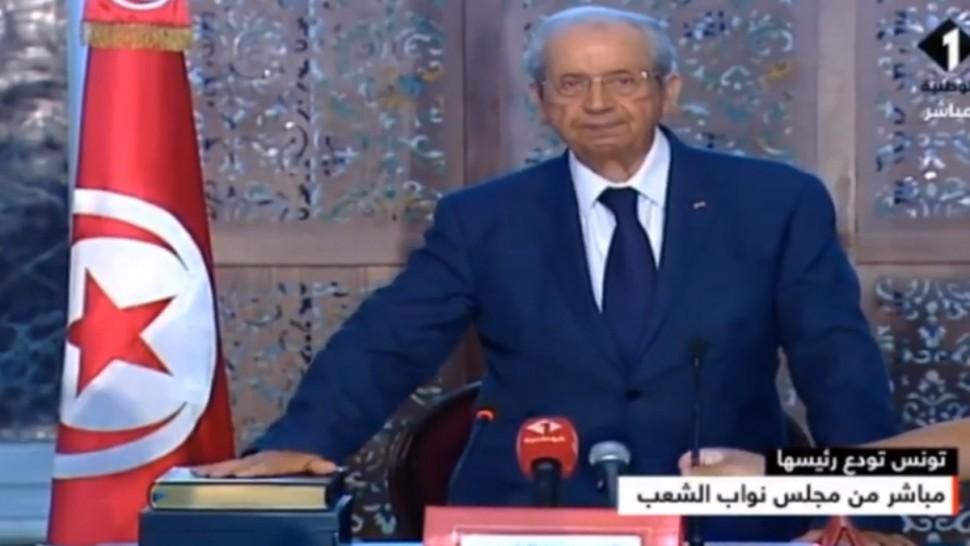 محمد الناصر يؤدي اليمين الدستورية