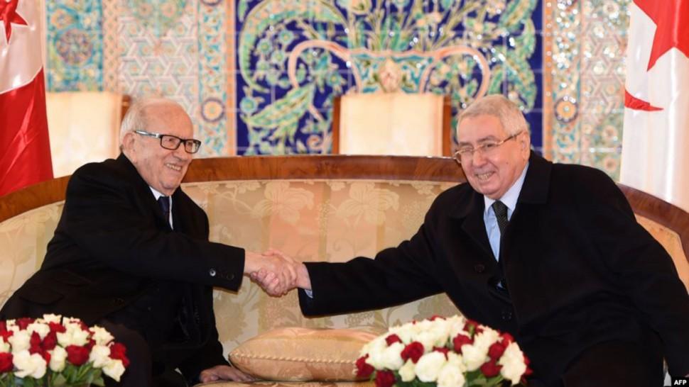 الباجي قايد السبسي وعبد القادر بن صالح