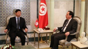 الوزير المكلف بالعلاقات الخارجية بالحزب الشيوعي الصيني يقدم تعازيه في وفاة رئيس الجمهورية