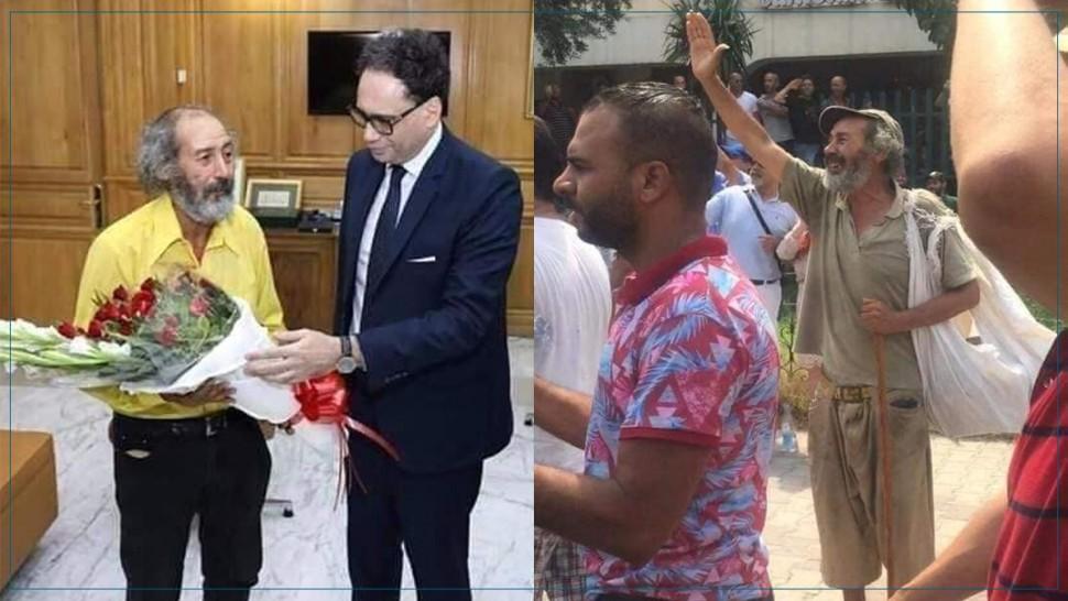 وزير الثقافة يستقبل الفنان التشكيلي عبد الحميد عمار