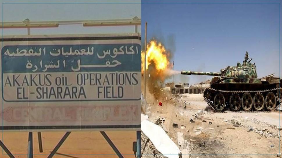 بسبب عمل تخريبي : توقف الإنتاج بأكبر حقل نفطي في ليبيا