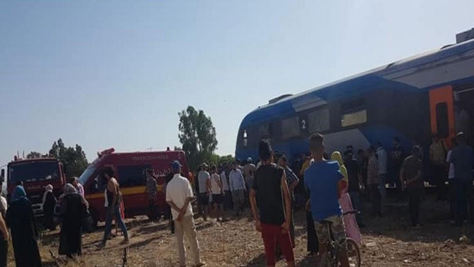 حادث مرور وفاة قطار