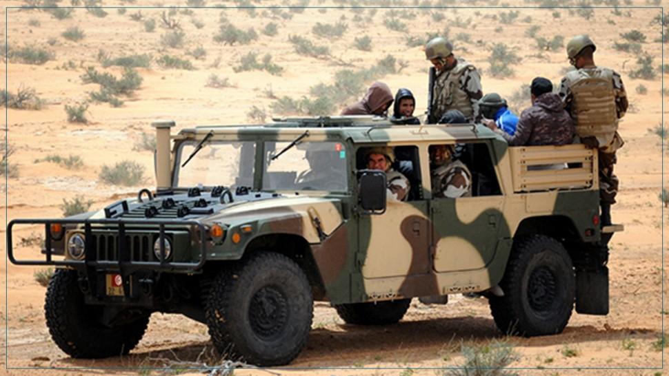 وحدات عسكرية ترجع 53 مجتازا الى التراب الليبي