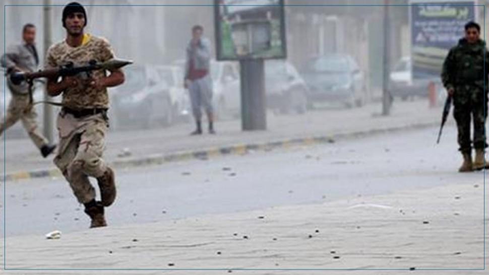مواجهات عنيفة في محيط القصر الرئاسي بمدينة عدن اليمنية