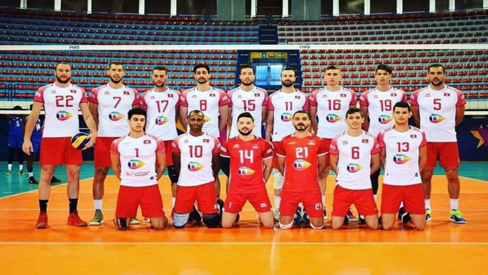 الكرة الطائرة تونس