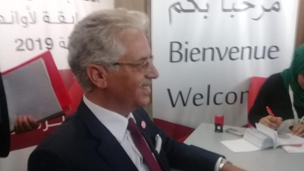 عمر منصور يودع ملف ترشحه للانتخابات الرئاسية