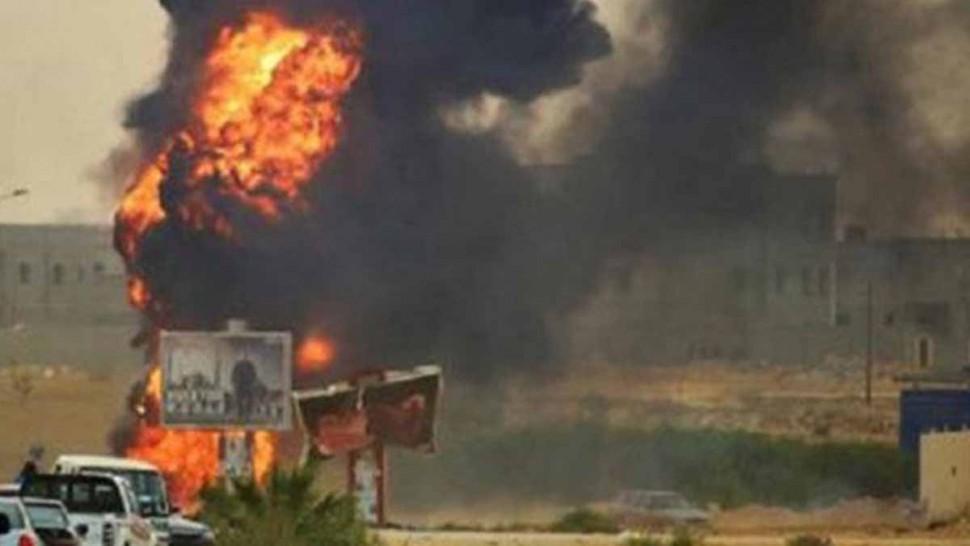 تفجير بنغازي ليبيا