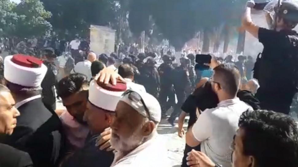 اشتباكات في القدس المحتلة