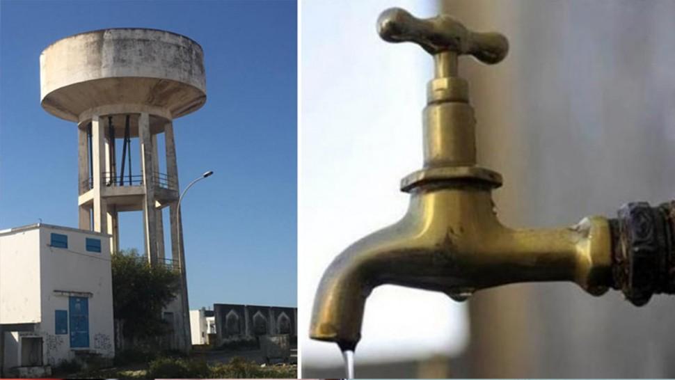 انقطاع الماء الصالح للشراب