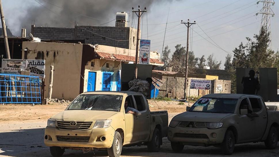 حفتر  حكومة الوفاق طرابلس ليبيا