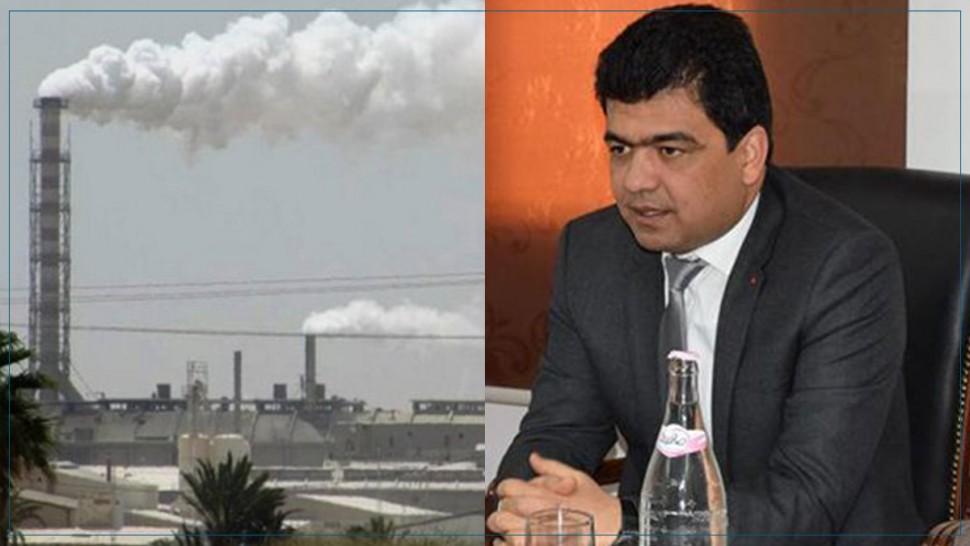 والي صفاقس: قرار إيقاف الأنشطة الملوّثة بمصنع السياب نهائي ولا رجعة فيه