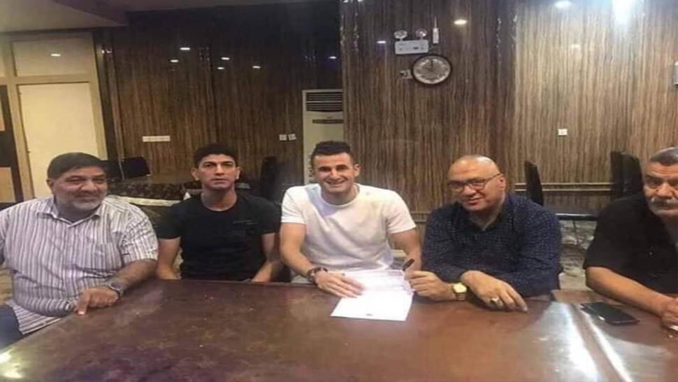 أيمن  حسين يعود للبطولة العراقية
