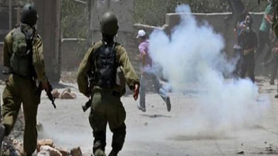 إصابة عدد من الفلسطينيين في نابلس