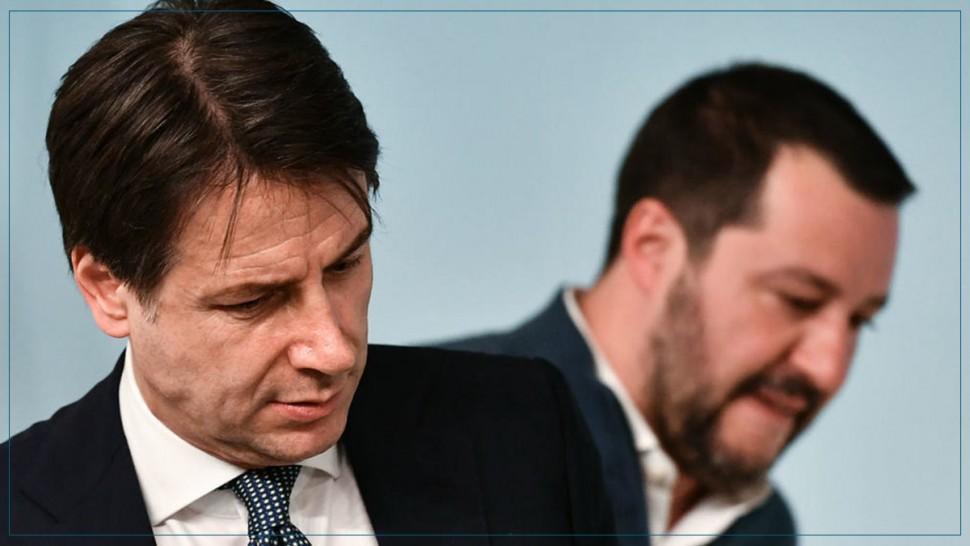 رئيس الوزراء الايطالي جوزيبي كونتي يعلن استقالته