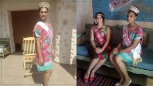 ملكة جمال الجزائر تحل بجزيرة قرقنة