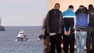 صفاقس: القبض على 14 شخص كانوا يعتزمون اجتياز الحدود البحرية خلسة