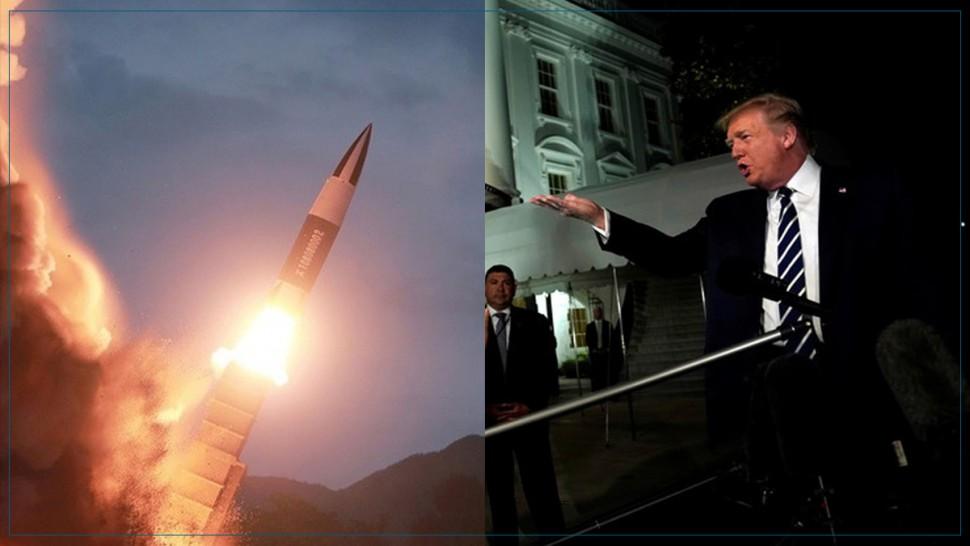 كوريا الشمالية تطلق صواريخ مجهولة الهوية وترامب يبرر