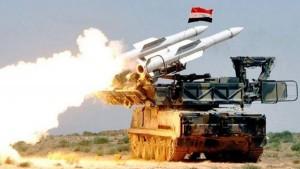 الجيش السوري يصد هجوما بصواريخ صهيونية