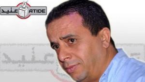 محاولة طعن بسكين للرئيس السابق لمنظمة عتيد معز بوراوي