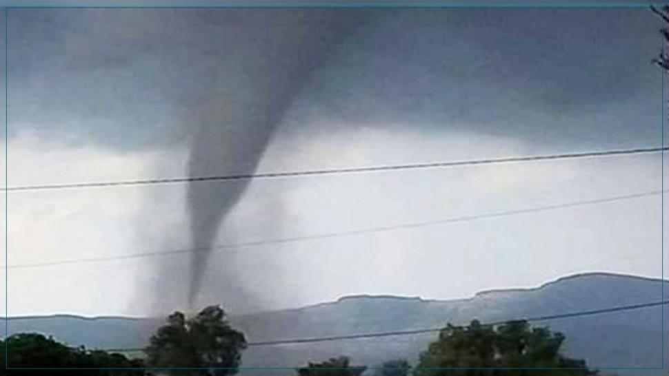 معهد الرصد الجوي يوضّح أسباب الريح الدوامة  التي ظهرت في نابل