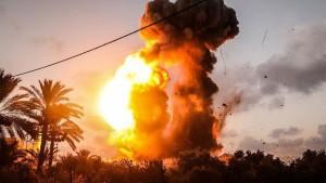 الجيش الصهيوني قطاع غزة