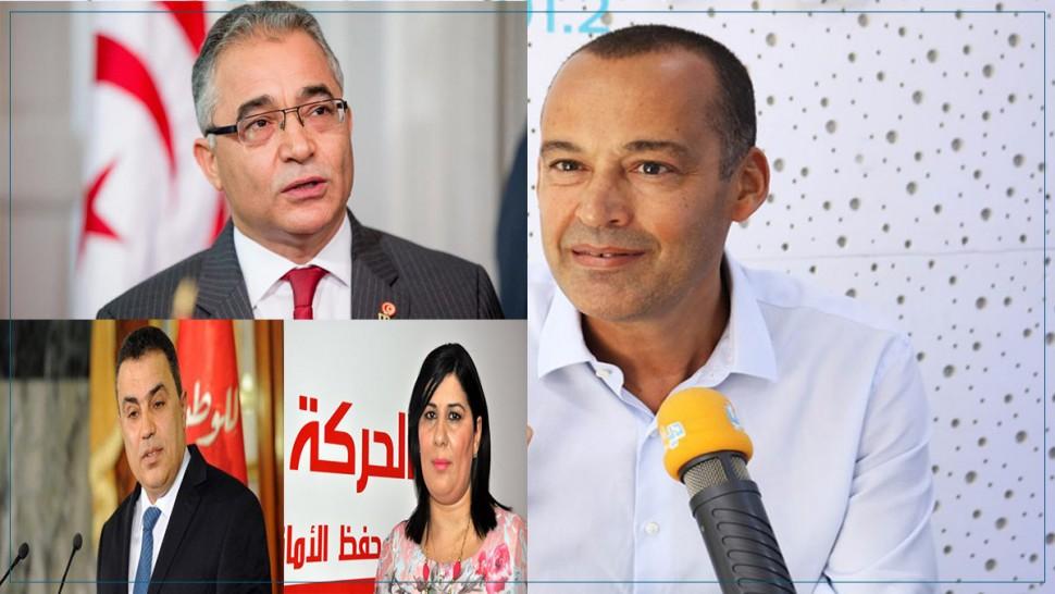 ياسين ابراهيم وعبير موسي ومحسن مرزوق ومهدي جمعة