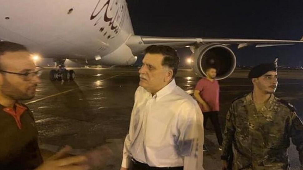 تعرض مطار معيتيقة الليبي للقصف أثناء وصول رحلة للحجيج