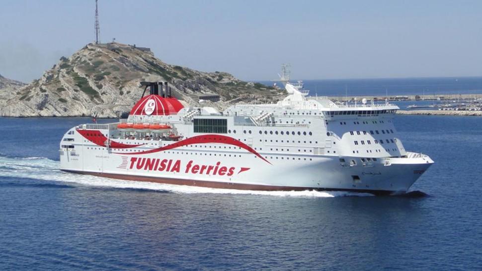 الشركة التونسية للملاحة تؤجل رحلتين بسبب الاحوال الجوية