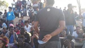 السواحل الليبية مهاجرين افارقة