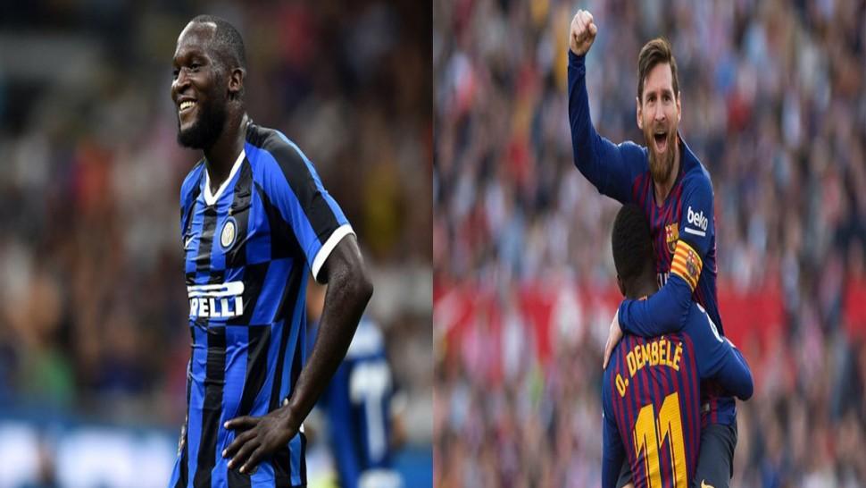 برشلونة – إنتر ميلان : ميسي و ديمبيلي جاهزان و لوكاكو يغيب
