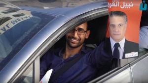 الاحتفال بقرار الافراج عن نبيل القروي في صفاقس (فيديو)