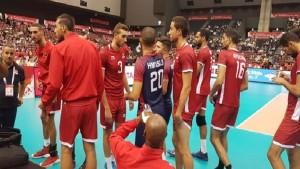مونديال الكرة الطائرة: المنتخب التونسي يفوز على المنتخب المصري