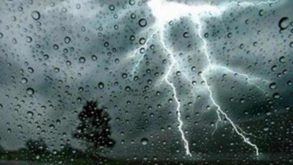 غدا الثلاثاء : أمطار رعدية باغلب المناطق تتراوح بين 30 و50 مم